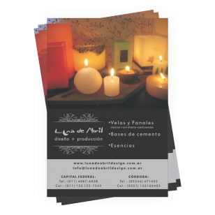 Folletos en 48hs.