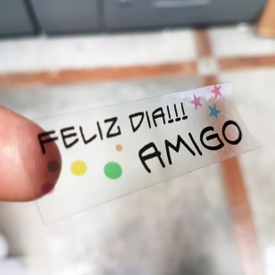 Stickers Transparentes